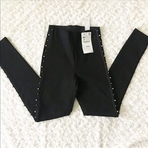 NWT Zara basic leggings